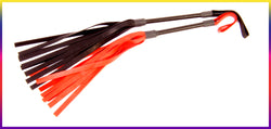 Leather Bessie flogger