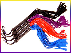 Radiance floggers - made of suede