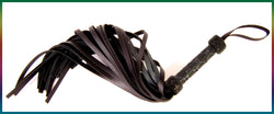 Premium Belting leather flogger