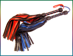Premium Cowhide leather floggers
