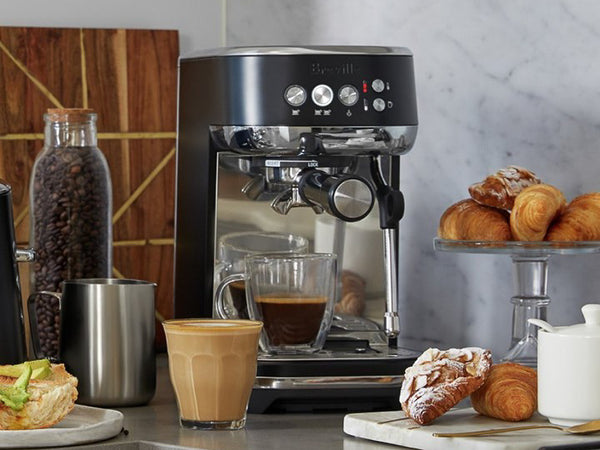 Breville Bambino Plus on a kitchen bench
