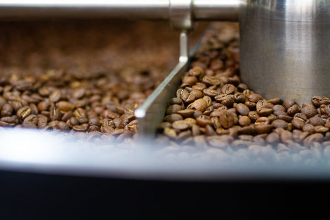 image of coffee in cooling tray