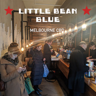Little Bean Blue | Espresso Bar | Melbourne CBD