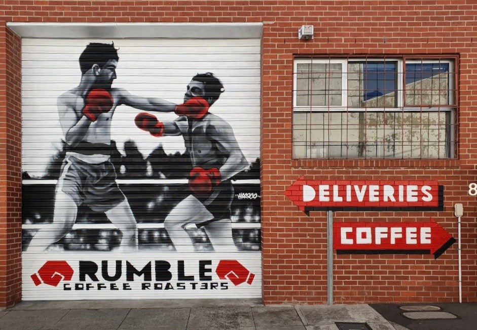 Rumble Coffee Roasters HQ