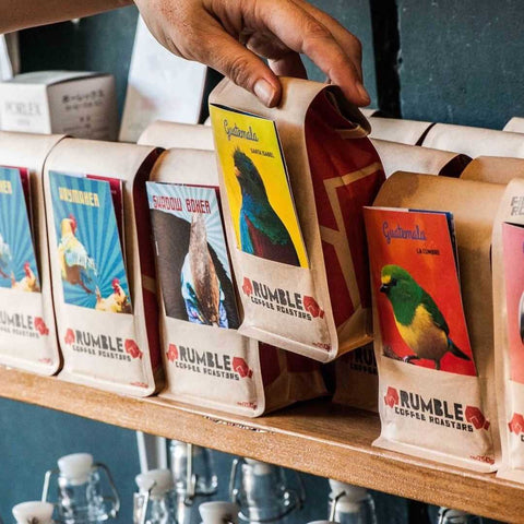 Small Graces Retail Shelf | Rumble Coffee Sell More Retail