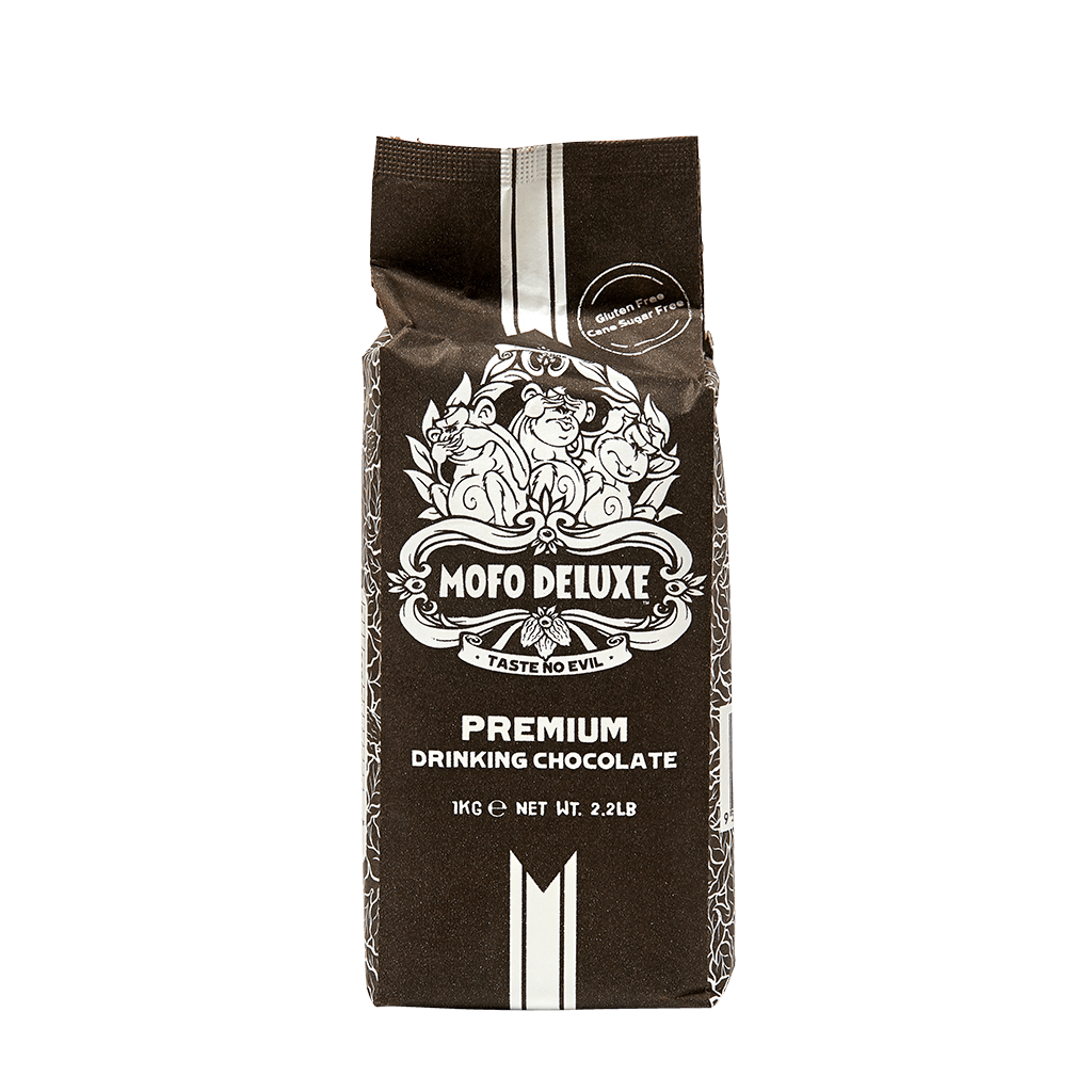 Mofo Deluxe Premium Drinking Chocolate 1kg | Rumble Coffee Roasters Kensington