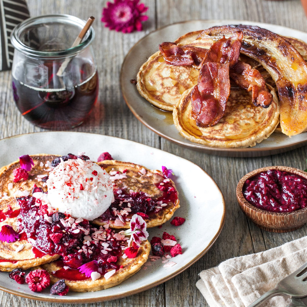 Pancakes Two Ways Box - brunchboxnz