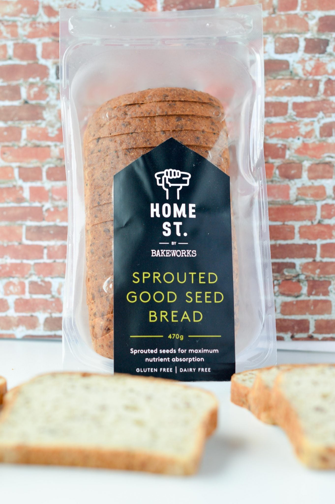 Home St Sprouted Good Seed Bread