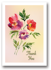 Sunset Thank You Cards