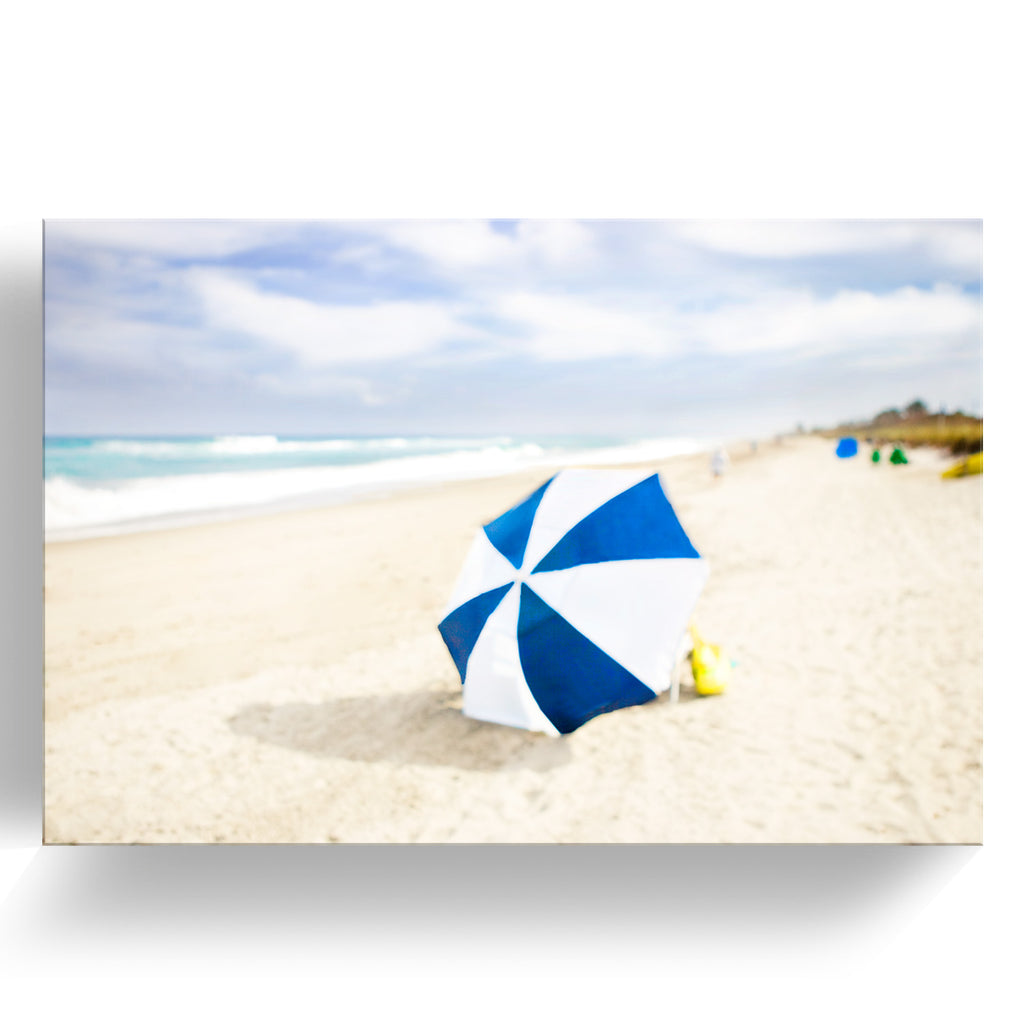 'Beach Series: Lone Umbrella' by Cheryl Maeder