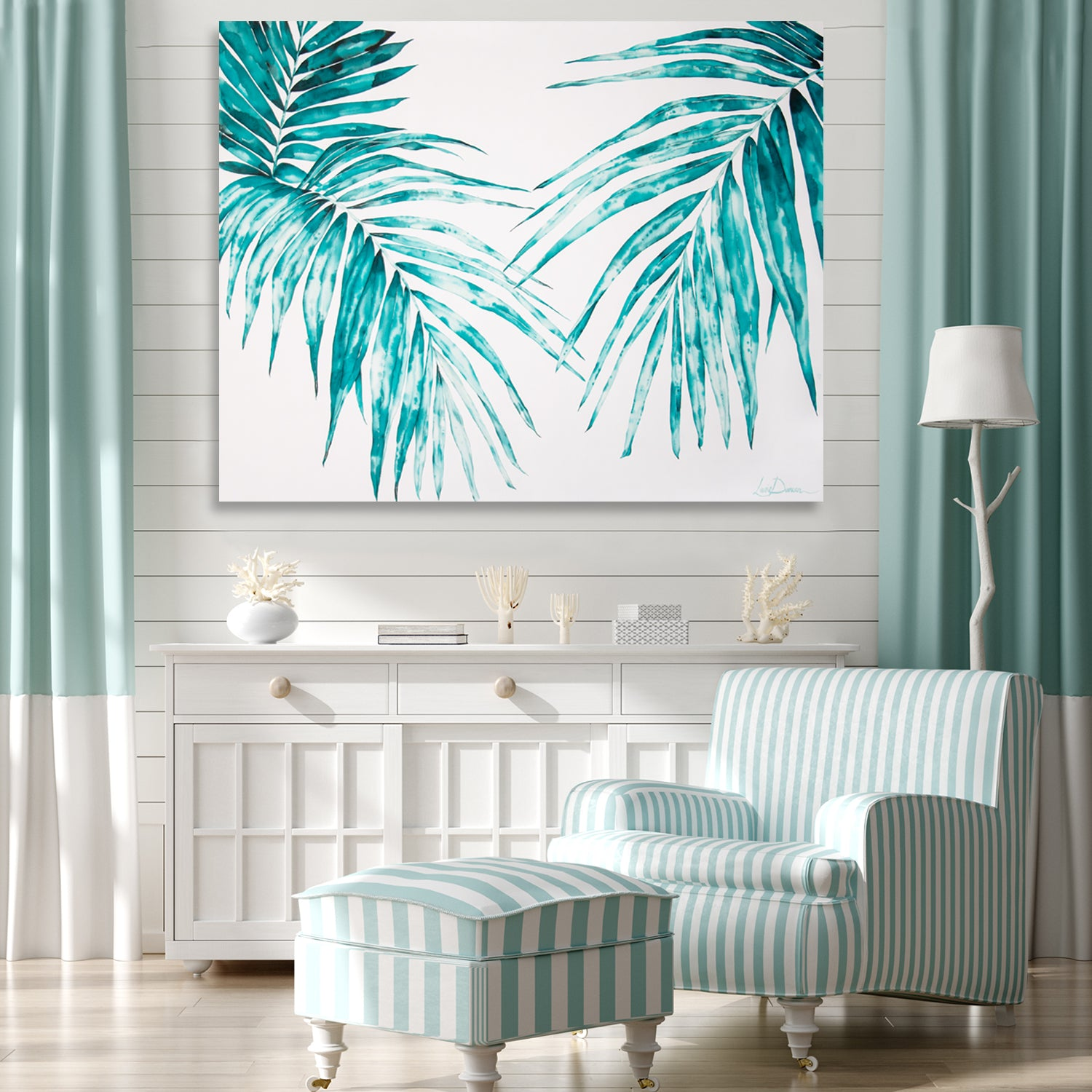 'Paradise Palms' by Laurie Duncan