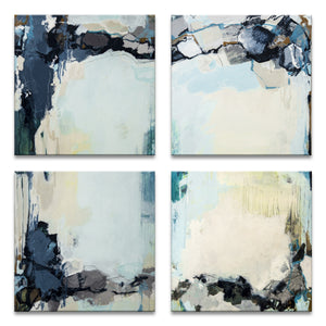 'Calm Waters I, II, III, & IV' by Tammy Staab