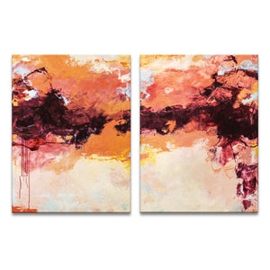 'Florida Sunset I & II' by Tammy Staab