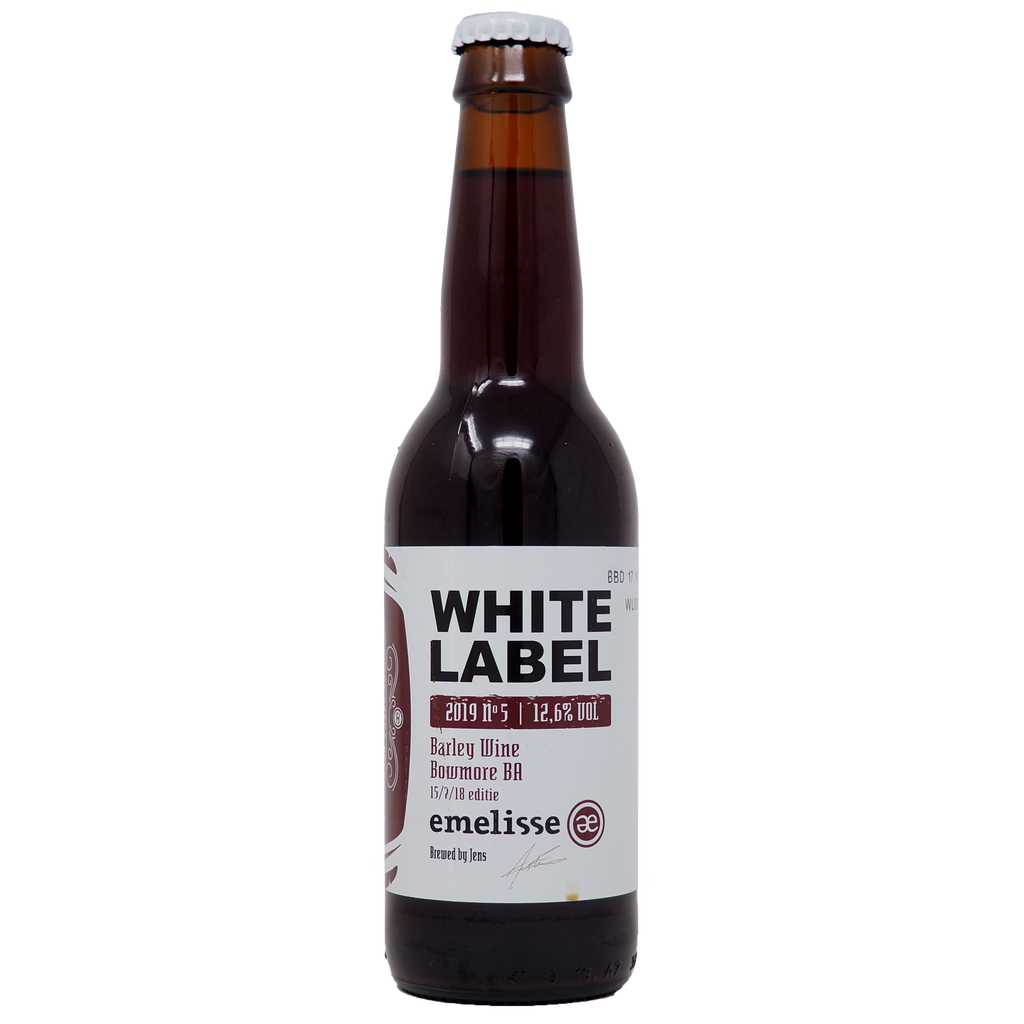 White Label Barley Wine Bowmore BA 2019 #5 - Køl
