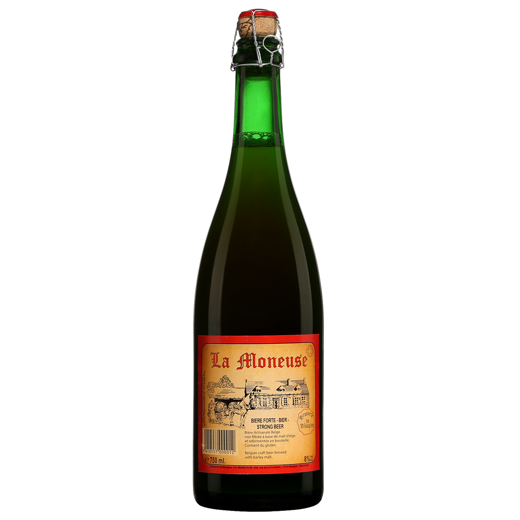 La Moneuse from Brasserie de Blaugies