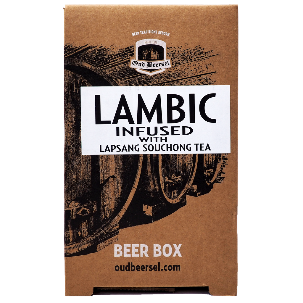 Lambic Infused with Lapsang Souchong Beer Box from Oud Beersel