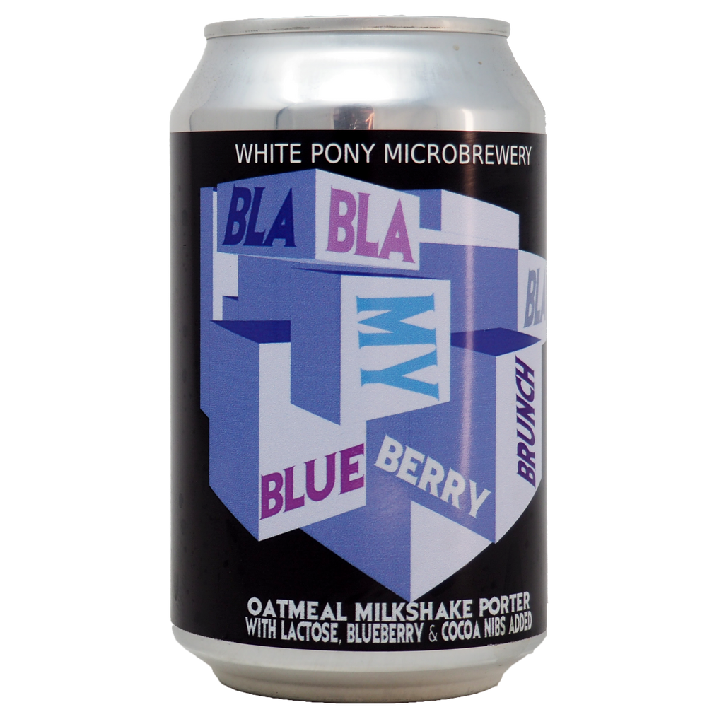 Bla Bla Bla My Blueberry Brunch from White Pony Microbrewery