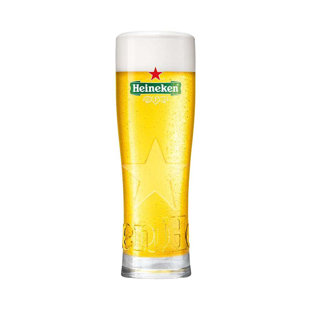 Heineken 'Star glass' bierglazen 25cl. (6stk)