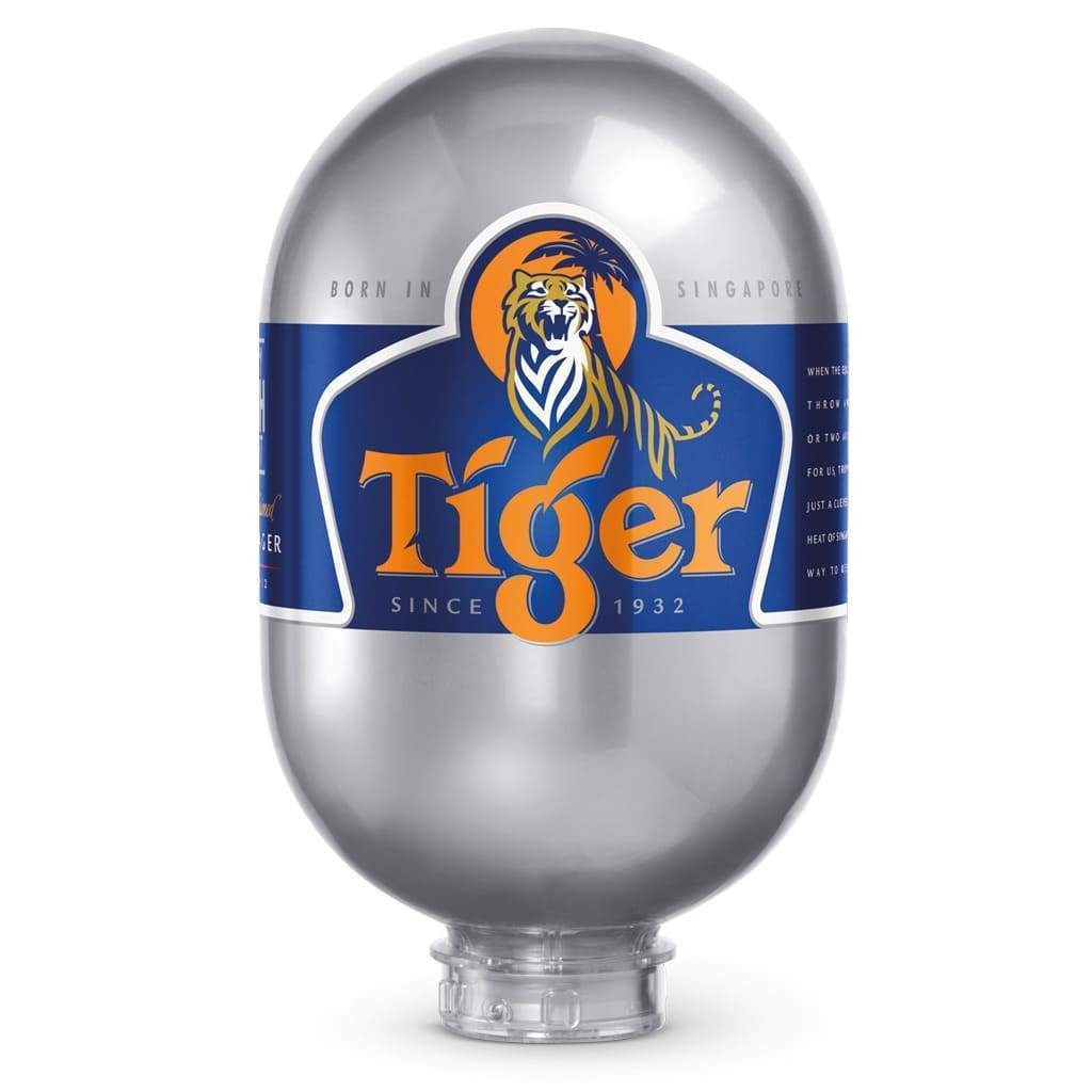 Tiger beer BLADE fust