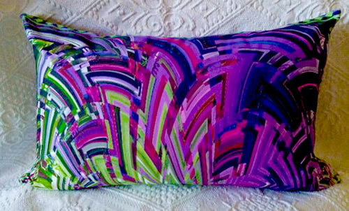 Green/Purple Art Deco Delight