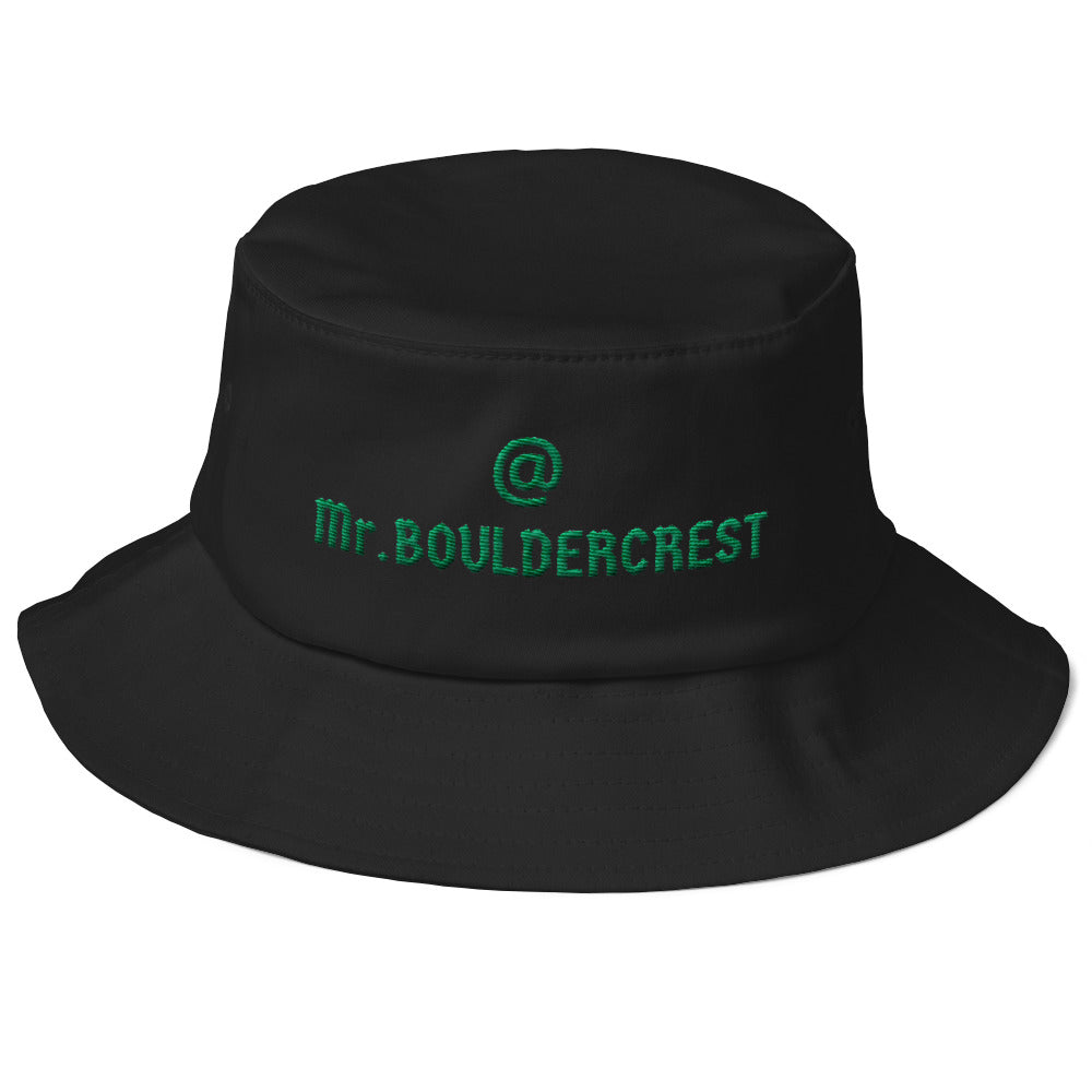 Mr Bouldercrest Old School Bucket Hat