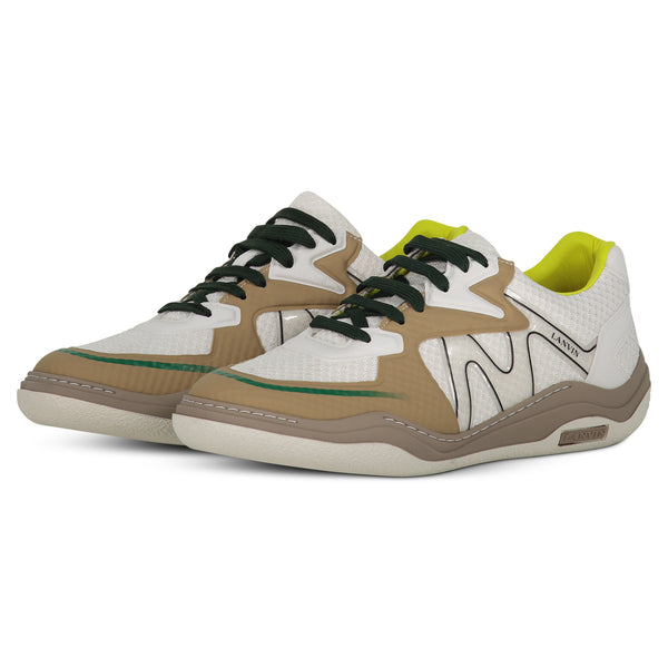 WHITE LANVIN SNEAKERS