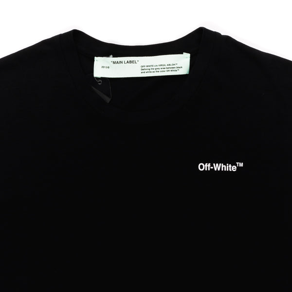 OFF WHITE FITTED TEE