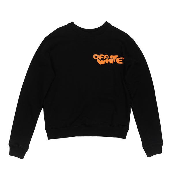 BUBBLE FONT SLIM CREWNECK