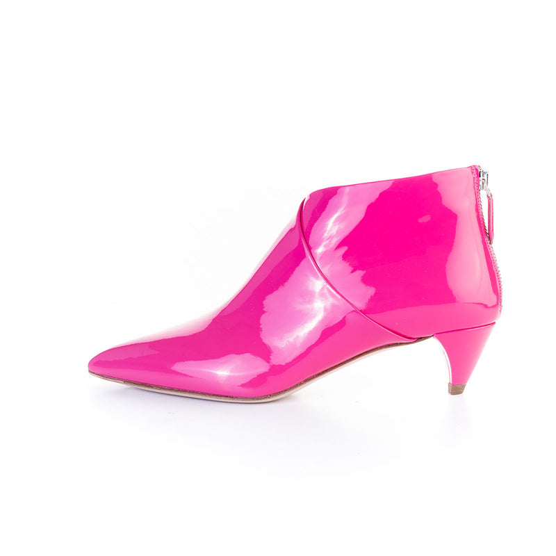 BOTINES PATENT LEATHER PINK