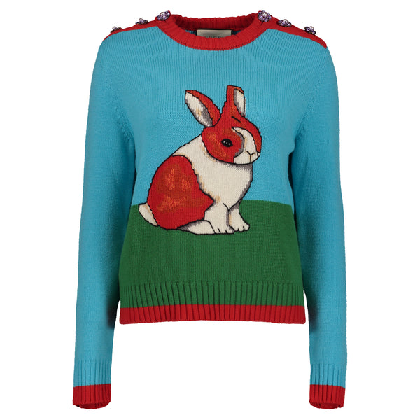 MY COLORFUL BUNNY SWEATER