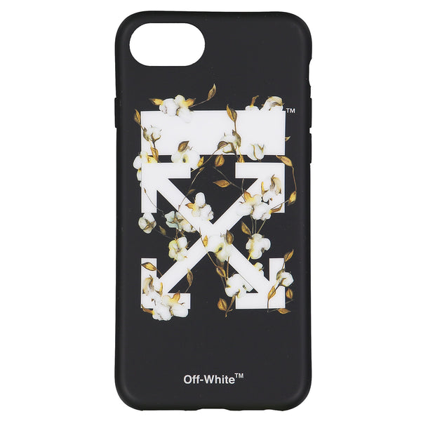 OFF WHITE BLACK CASE iPhone 8
