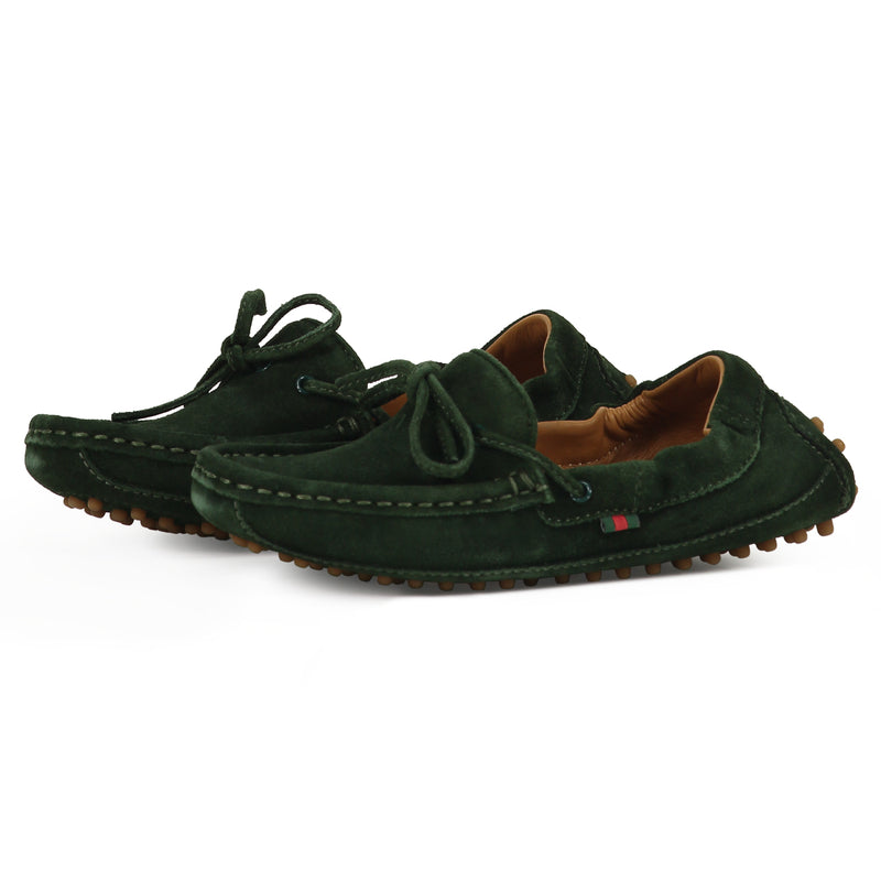 MINI MOCASIN GREEN BOY