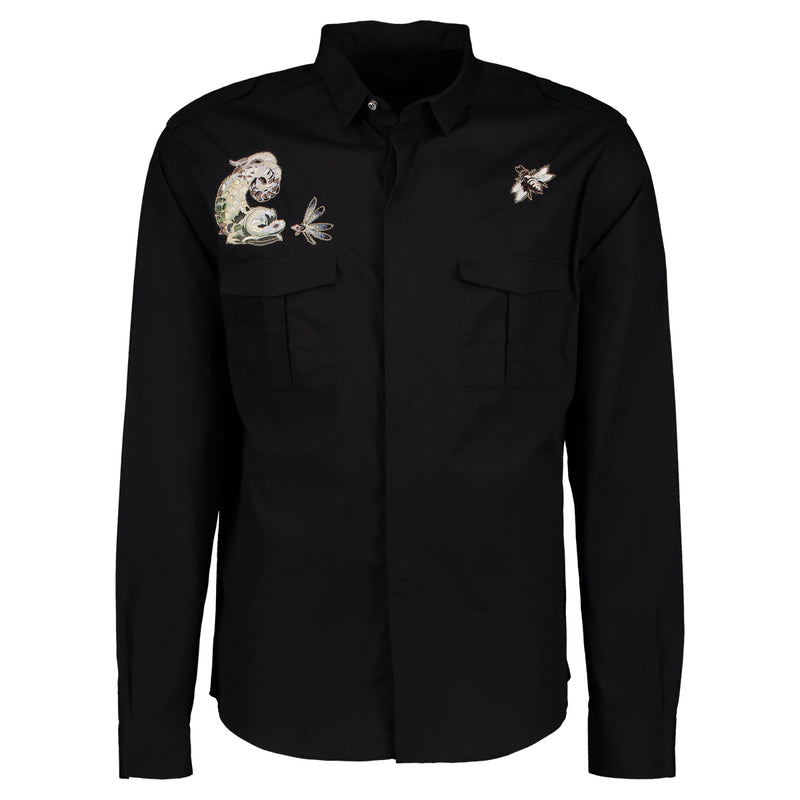 CAMISA EMBROIDERY BLACK
