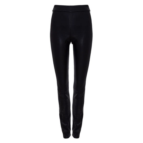 LEGGINGS LEATHER BLACK