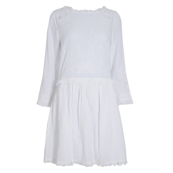 VESTIDO EMBROIDERY WHITE