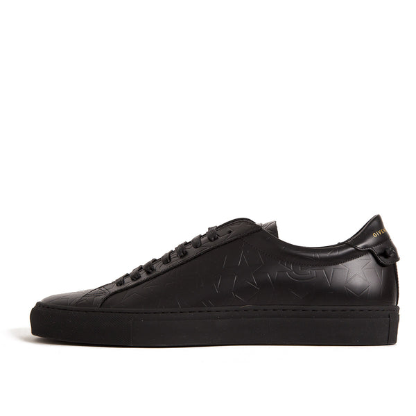 LOW SNEAKERS BLACK STAR