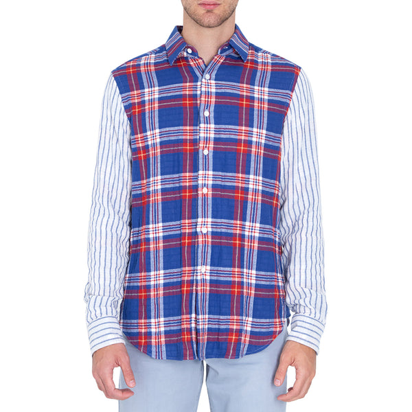 CAMISA PLAID MULTICOLORED