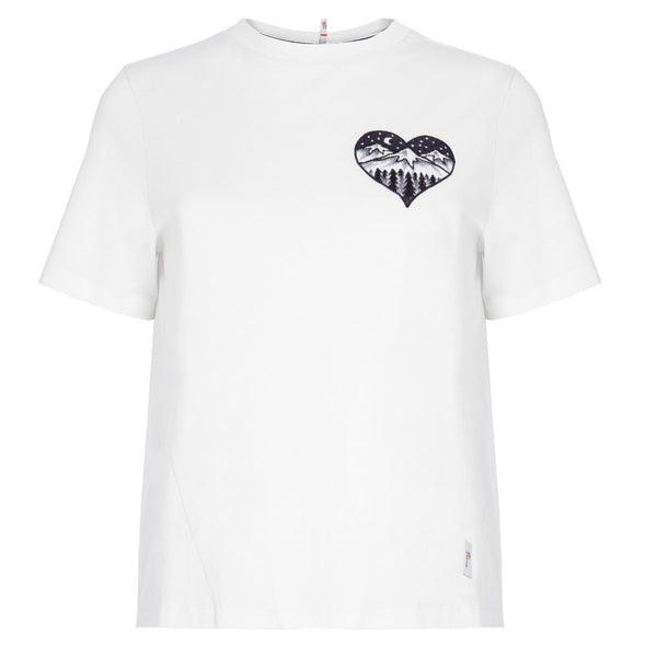 CAMISETA HEART WHITE