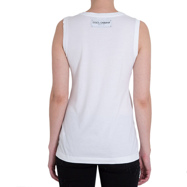 "TANK TOP ""THANK YOU"" WHITE"