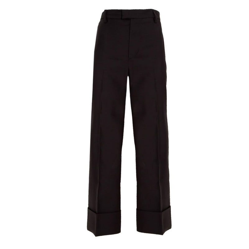 TROUSER BLACK ROLLED UP