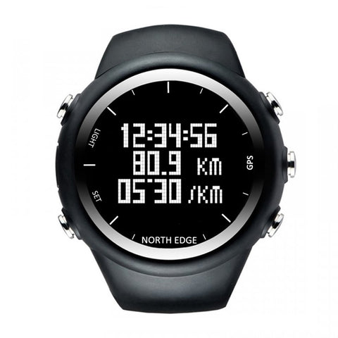 GPS Watch Digital Men Wristwatch Smart Pace Speed Calorie Running Hiking Waterproof Sports Watch X-Trek
