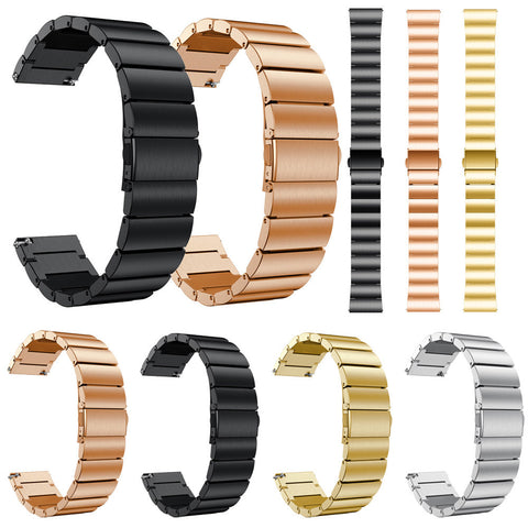 Stainless Steel Watch Band Replacement Band for Samsung Galaxy Watch 42mm