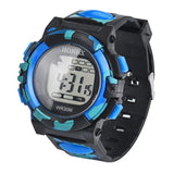 Outdoor Sports Boy Waterproof Watches Hiking Men Watch Digital LED Electronic Watch Man Sports Watches Chronograph Men Clock #D