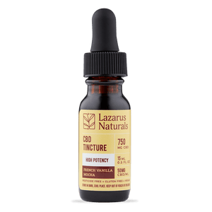 Lazarus Naturals High Potency CBD oil FULL SPECTRUM - Peyt's Promise