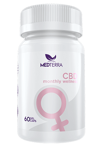 MedTerra CBD Women's Monthly Wellness CBD supplement, 60 count - Peyt's Promise