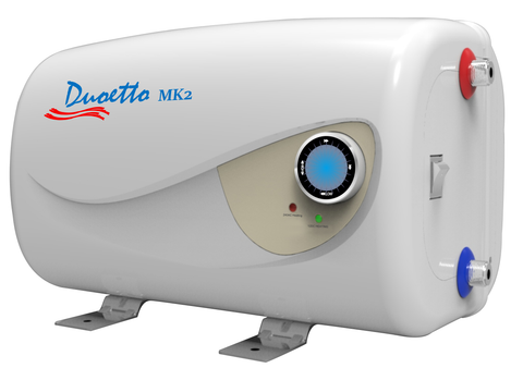 Duoetto MK2 Dual Voltage (12v/240v) Electric 10L Storage Water Heater