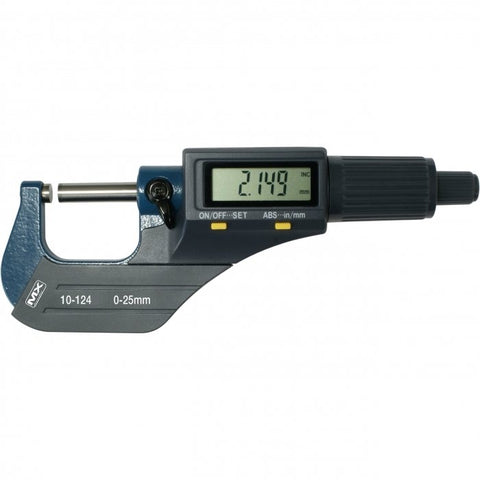 10-124 - Digital Outside Micrometer 0-25mm / 0-1""
