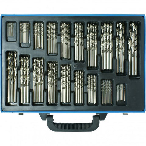 D126 - Metric Precision HSS Drill Set - 170 Pieces Ø1 - Ø10mm 0.5mm Increments