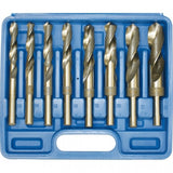D1171 - Metric Industrial HSS Reduced Shank Drill Set Ø13-Ø25mm 8 Piece