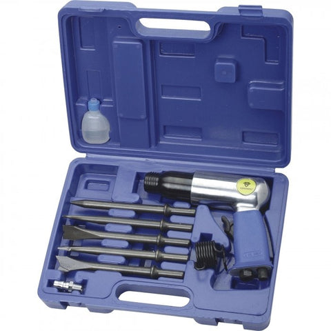 RP7809H - Air Hammer Chisel Kit 2.3cfm 7 Piece Set